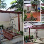 Review : DIY ศาลาไม้สำหรับพักผ่อนและแต่งสวน ในราคาไม่เกิน 35,000