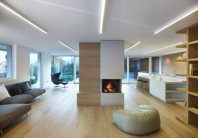 wooden Two-story contemporary home (2)