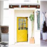 """28 ไอเดียตกแต่งทางเข้าบ้าน ด้วย """"ประตูบ้านสีพาสเทล"""" มีความสวยงาม สะท้อนรสนิยมผู้อาศัย"""