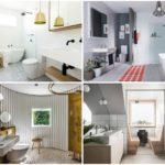 58 ไอเดียห้องน้ำโทนสีขาว สว่าง สไตล์สแกนดิเนเวีย ความสวยงามบนความเรียบง่าย น่าใช้งาน