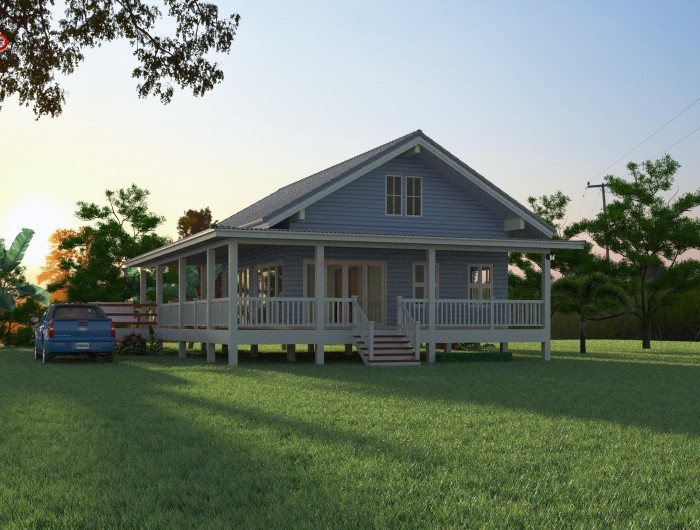 1-storey-classic-blue-villa-house-with-long-patio-1