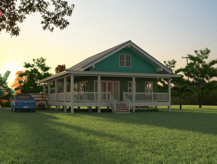 1-storey-classic-blue-villa-house-with-long-patio-5