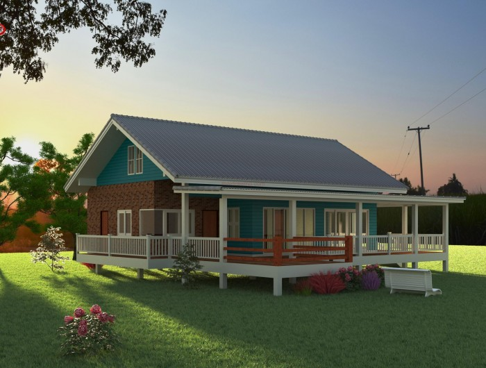 1-storey-classic-blue-villa-house-with-long-patio-6
