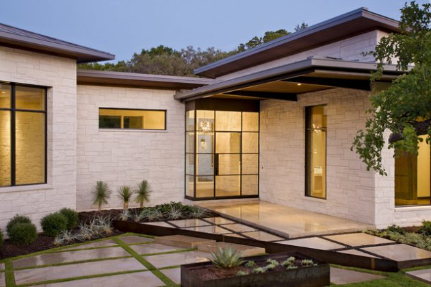 15-irresistible-contemporary-entrance-designs-12