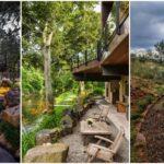50 ไอเดียสวนสวย ที่ตกแต่งด้วยบันไดหิน สร้างสวนต่างระดับ รับการพักผ่อนที่อิงแอบธรรมชาติ