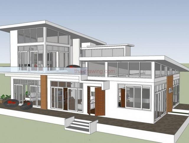 2-storey-modern-glass-wall-house-plan-5