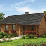 บ้านไม้ขนาดเล็ก แต่อัดแน่นภายในไว้ 3 ห้องนอน 1 ห้องน้ำ ตกแต่งให้เข้ากับแบบบ้านสวน
