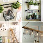 33 ไอเดีย DIY ของใช้ของโชว์ภายในบ้าน จากตะกร้าลวด สร้างง่ายๆจากของเหลือใช้