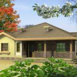 บ้านบังกะโลขนาดกะทัดรัด อัดแน่นภายใน 4 ห้องนอน 2 ห้องน้ำ รายล้อมด้วยธรรมชาติร่มรื่น