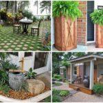 46 ไอเดียจัดสวนหน้าบ้าน พร้อมทางเดินเท้าเข้าสู่ตัวบ้าน โดดเด่น ร่มรื่น เสริมความงามแก่ตัวบ้าน