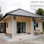 บ้านชั้นเดียวทรงปั้นหยา งบประมาณ 400,000 บาท ตอบโจทย์คนงบน้อย ที่อยากมีบ้านหลังเล็กน่ารัก