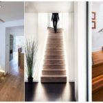 รวม 62 ไอเดียบันไดภายในบ้าน หลากหลายสไตล์ วัสดุจากไม้ กระจก และเหล็ก สร้างโถงห้องที่โดดเด่นสวยงาม