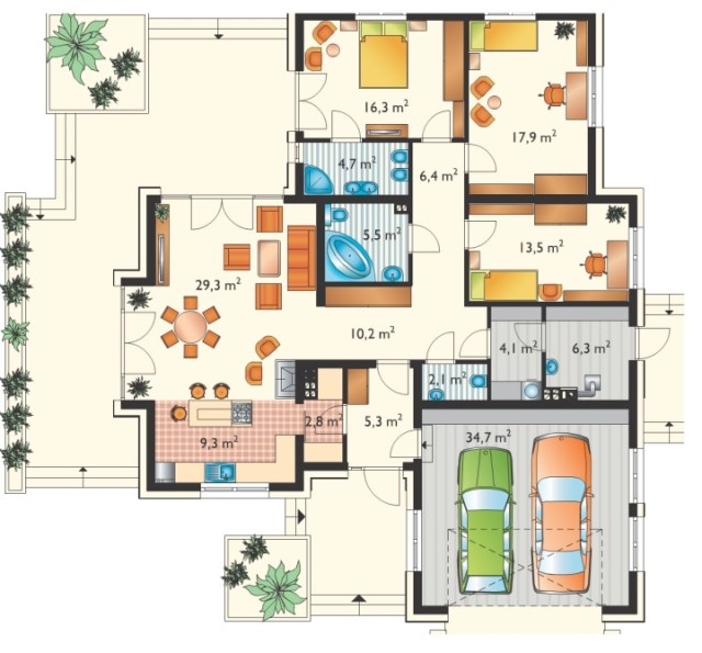 contemporary-house-3-bedrooms-2-bathrooms-and-large-recreation-hall-3