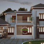 บ้านเดี่ยวสองชั้น ออกแบบสไตล์ร่วมสมัย มีความสวยงามบนความภูมิฐาน รองรับครอบครัวขนาดใหญ่
