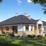 บ้านร่วมสมัยขนาด 200 ตร.ม. ออกแบบภายใน 3 ห้องนอน 3 ห้องน้ำ รูปทรงที่มีความภูมิฐาน รับครอบครัวสมัยใหม่