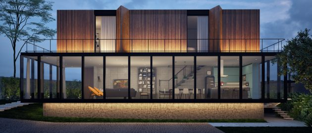 modern-house-twotones-of-steel-and-wood-5