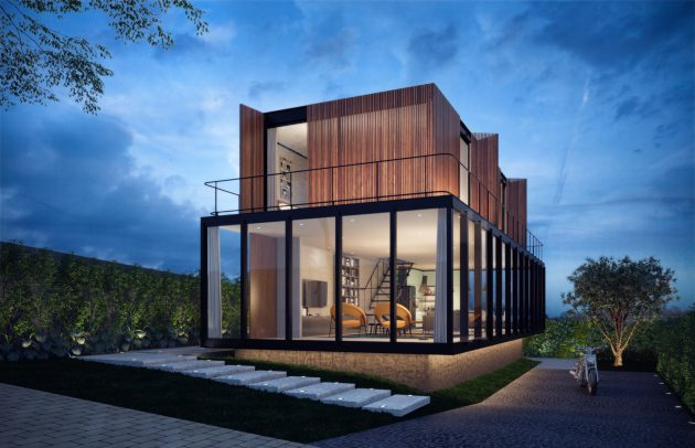 modern-house-twotones-of-steel-and-wood-7
