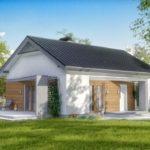 บ้านหลังเล็ก ดีไซน์เรียบง่าย 2 ห้องนอน 2 ห้องน้ำ มีความงามแฝงความภูมิฐาน