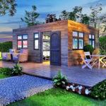 บ้านหลังน้อย สไตล์เคบิน 1 ห้องนอน 1 ห้องน้ำ ไอเดียบ้านพักที่เหมาะกับบ้านสวนใต้ร่มไม้