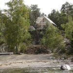 บ้านคอนเทจประยุกต์ ออกแบบด้วยงานไม้ ดีไซน์ไว้บนเนินเขา