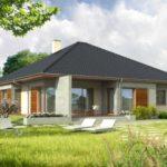 บ้านขนาดกลาง รูปทรงแบบบ้านร่วมสมัย ตกแต่งด้วยไม้ และผนังคอนกรีต ความลงตัวในความภูมิฐาน