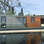 บ้านโมเดิร์นเรือนแพ ขนาดเล็กกะทัดรัด 1 ห้องนอน 1 ห้องน้ำ แบบสตูดิโอ
