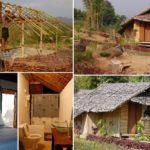 Review : สร้างกระท่อมหลังน้อยด้วยตัวเอง พอเพียงและเรียบง่าย สไตล์ธรรมชาติ พร้อมวิวป่าเขาแสนสดชื่น