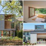 บ้านโมเดิร์นตากอากาศ ทูโทนวัสดุจากคอนกรีตและไม้ เข้ากับบรรยากาศแบบบ้านสวน