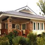 Review : บ้านชั้นเดียวระเบียงกว้าง ขนาด 2 ห้องนอน 1 ห้องน้ำ ในดีไซน์ร่วมสมัยแสนอบอุ่น