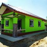 Review : บ้านสไตล์บังกะโล เรียบง่ายกะทัดรัด  2 ห้องนอน 1 ห้องน้ำ ในงบประมาณไม่เกิน 600,000 บาท
