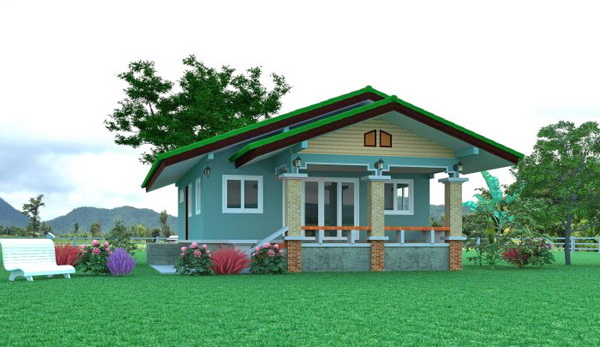 1-storey-contemporary-double-gable-house-1