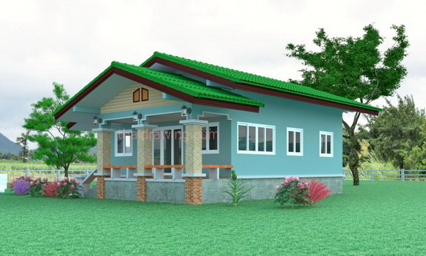 1-storey-contemporary-double-gable-house-2