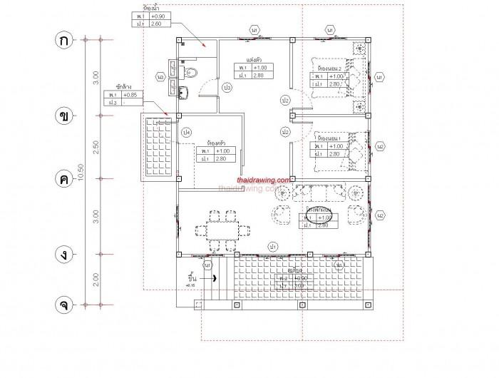 1-storey-contemporary-double-gable-house-4