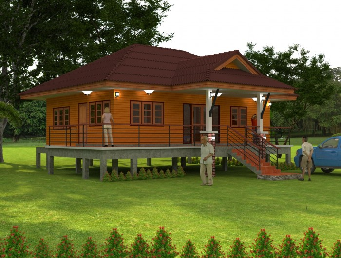 1-storey-raised-up-country-wooden-house-5