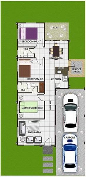 1-storey-yellow-narrow-facade-house-for-small-family-9