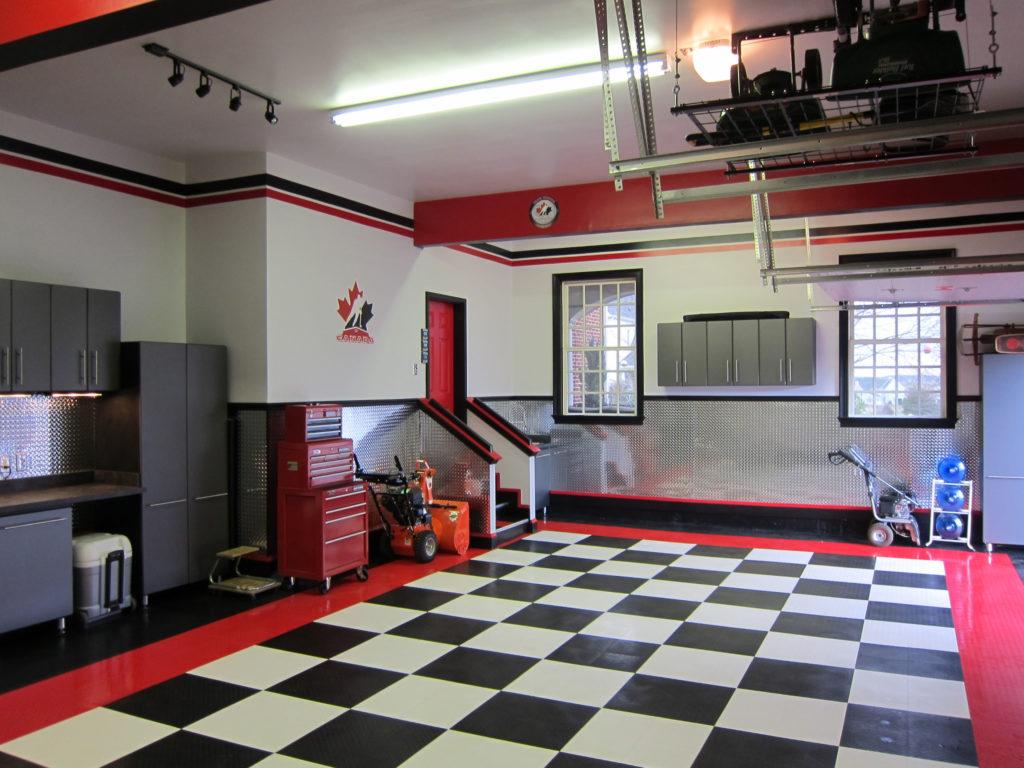 Nash garage - after