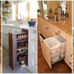 """24 ไอเดีย """"เคาน์เตอร์ครัวพร้อมตู้เก็บของ"""" ดีไซน์อัจฉริยะ เพื่อการประหยัดพื้นที่ในห้องครัวโดยเฉพาะ"""