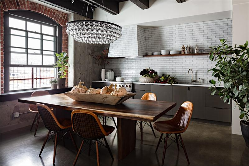 eclectic kitchen designs 34