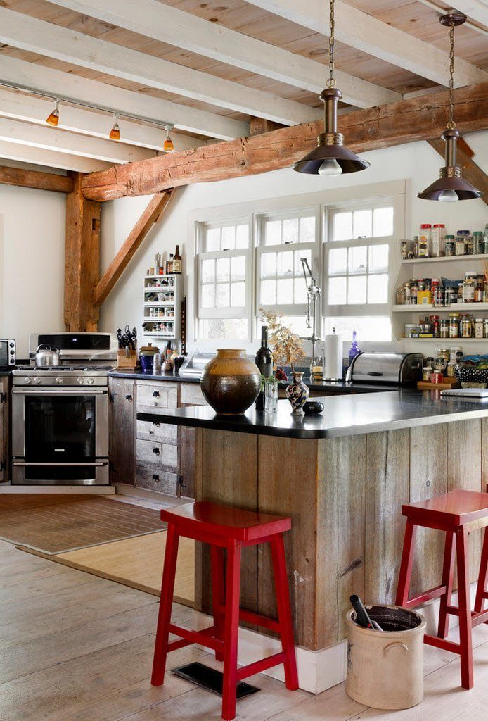 eclectic kitchen designs 40
