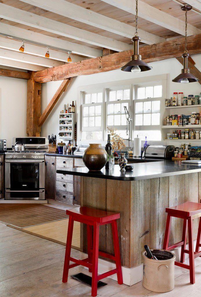 eclectic kitchen designs 40
