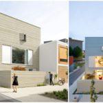 บ้านทาวน์โฮมขนาดจำกัด สไตล์โมเดิร์นมินิมอล ไอเดียที่ปรับใช้ออกแบบออฟฟิศ ร้านกาแฟ บ้านตากอากาศ
