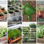 41 ไอเดียตกแต่งสวน และแปลงผักสวนครัว ในรูปแบบ DIY ทำง่ายๆ จากของเหลือใช้