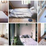 """""""นอนกับพื้น"""" 40 ไอเดีย ห้องนอนไร้เตียง สร้างบรรยากาศพักผ่อนที่อบอุ่นและเรียบง่าย"""