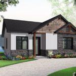 บ้านเดี่ยวสไตล์ร่วมสมัย ขนาดเล็กๆกะทัดรัด 2 ห้องนอน 1 ห้องน้ำ พร้อมงานไม้และหินทราย