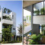 บ้านปูนเปลือยขนาดกะทัดรัด ออกแบบให้มีธรรมชาติไว้ภายในบ้าน สะท้อนรสนิยมที่ไม่ซ้ำใคร