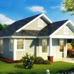 บ้านเดี่ยวขนาดเล็ก ดีไซน์เรียบง่าย น่ารักในรูปทรง อยู่ในงบไม่เกินล้าน