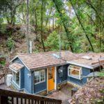 บ้านสวนโทนสีฟ้าพาสเทล หลังเล็กๆ น่ารัก ตกแต่งภายในแบบสวยซ่อนรูป