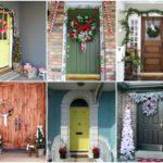 34 ไอเดียประตูและทางเข้าบ้าน ในธีมคริสต์มาส สวยงาม เข้ากับเทศกาล