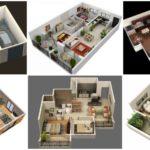 """รวม 72 แบบแปลน 3D """"บ้านหลังเล็ก"""" โชว์สีสันและวัสดุภายใน เห็นภาพชัดเจน เข้าใจง่าย"""