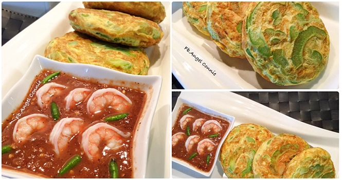 spicy-kapi-shrimp-paste-with-bitter-melon-omelette-recipe